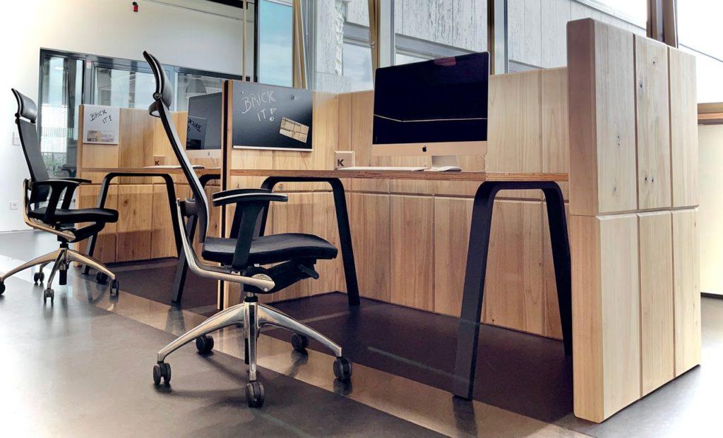 Büroboxen aus Kiribricks